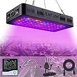Goyaesque 600W LED Grow Light, Full Spectrum Indoor Plants Garden, UV Red Blue for Vegetable &...