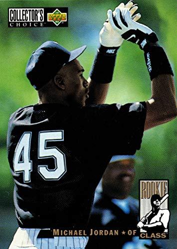 1994 Upper Deck Collector's Choice Baseball #661 Michael Jordan Rookie Card
