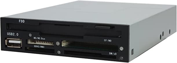 Nippon Labs ICR-EE All-in-1 INT Card Reader with Floppy Drive