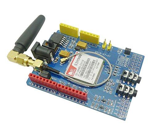 Aihasd SIM900 850/900/1800/1900 MHz GPRS/GSM/Development Board Wireless Data Module für Arduino