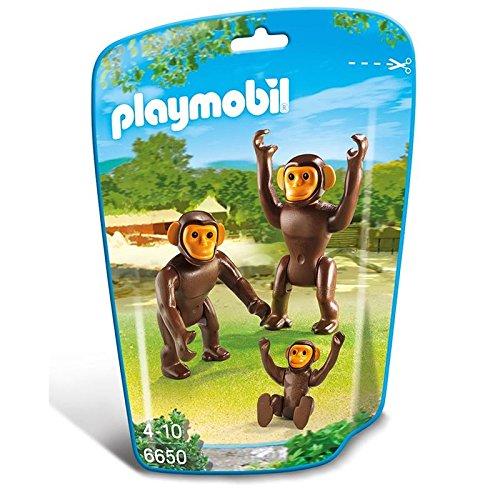 Playmobil Familia de chimpances