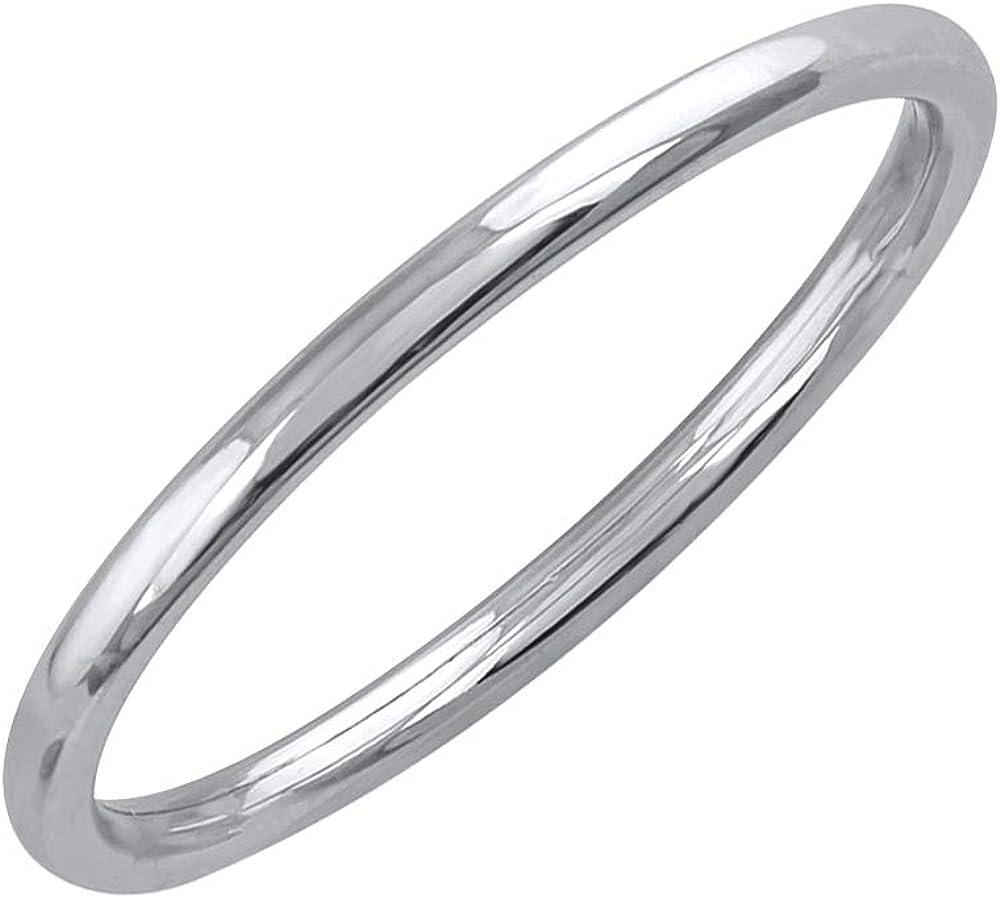 950 Platinum 1.5 mm Plain Wedding Band