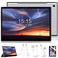 4G LTE Tablet 10.1 Pollici, Android 9.0 Pie Octa-Core 2.3GHz 4GB + 64GB/Espandibile 128GB Type-C 8000mAh Dual SIM Bluetooth GPS Supporta NETFILX