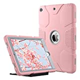 ULAK iPad 9.7 inch 2018/2017 Case, [Armor series] Heavy Duty Shockproof Protective Cover