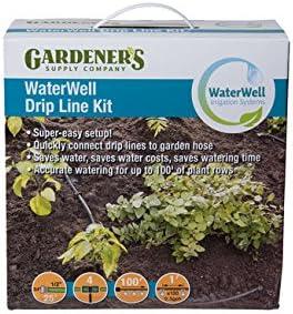 Gardener's Supply Company WaterWell Garden Irrigati and Watering Over item handling ☆ OFFicial store