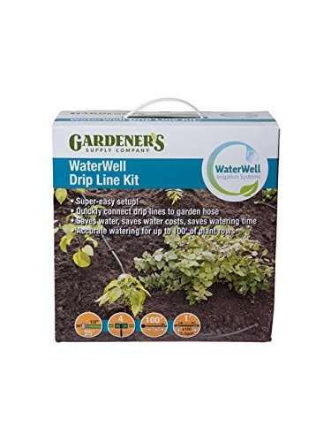 Gardener's Supply Company WaterWell Garden Watering and Irrigation System Drip Line Kit