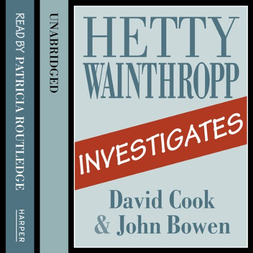 Hetty Wainthropp Investigates audiobook cover art