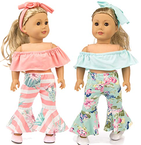 ibayda 6pc/Set Doll Clothes Accessories for 18 inch American Girl Doll,Our Generation...