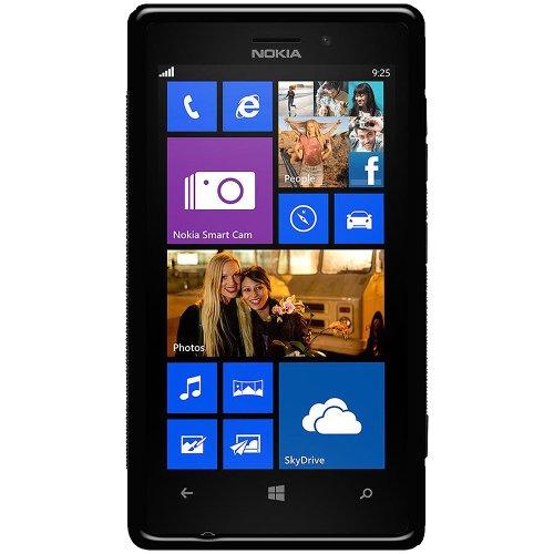 Amzer - Cover Ibrida in TPU per Nokia Lumia 925, Colore: Nero
