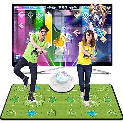 Câble Haute définition HDMI Couverture de Danse Double Enfants épaissie TV Machine de Jeu Informatique 4K + Machine de Danse Maison (Taille: 1650x800mm)