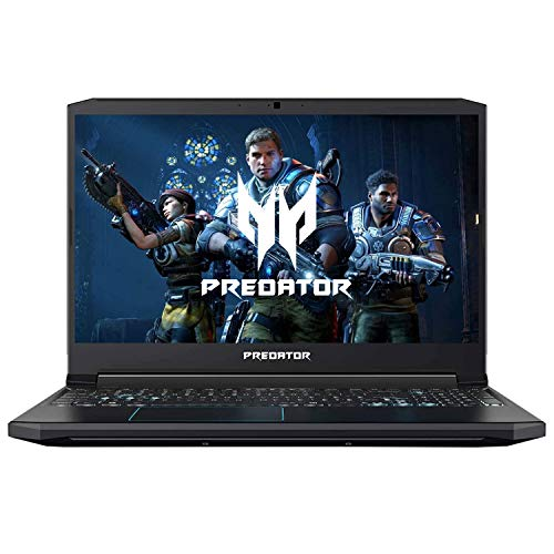 "Acer Predator Helios 300 Gaming Laptop, Intel Core i5-9300H, GeForce GTX 1660 Ti, 15.6"" Full HD 120Hz Display, 3ms Response Time, 8GB DDR4, 512GB PCIe NVMe SSD, Backlit Keyboard, PH315-52-588F,Black"