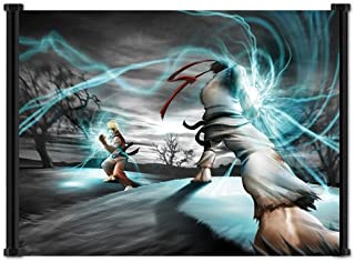 Wall Scrolls Street Fighter IV 4 Game Ryu Ken Fabric Poster (26