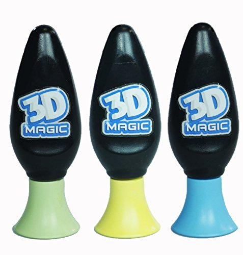 3D Magic 3 Gel Refil Set by ToyMarket