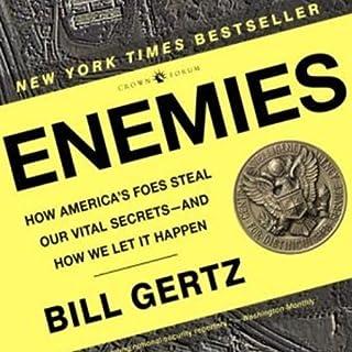 Enemies audiobook cover art