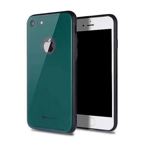 e99e715836 【CINC SHOP】 iPhone8ケース iPhone7ケース 9H 背面ガラスケース 軽量 衝撃防止 耐