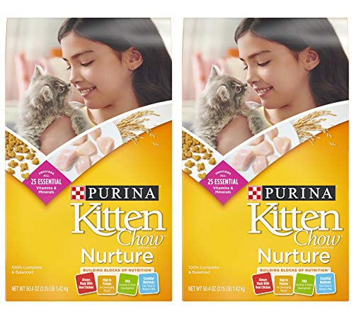 Price comparison product image Purina Kitten Chow Nature 3.15lb. 2-PACK
