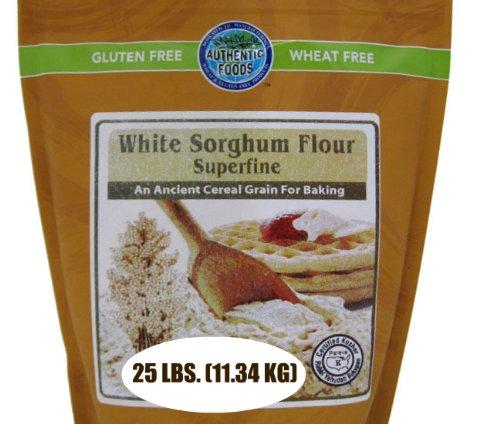 Authentic Foods Superfine Sorghum Flour, 25 Pound
