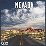 Nevada 2021 Calendar: Official Nevada Travel Wall Calendar 2021, 18 Months