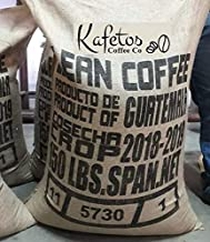 150 lbs. GUATEMALA GREEN COFFEE Whole Bag, Specialty Grade, Organically Grown, Direct Trade