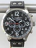 Reloj piloto IMC® - Phantom - Reloj de pulsera de acero inoxidable con cronógrafo aviador - Edición especial