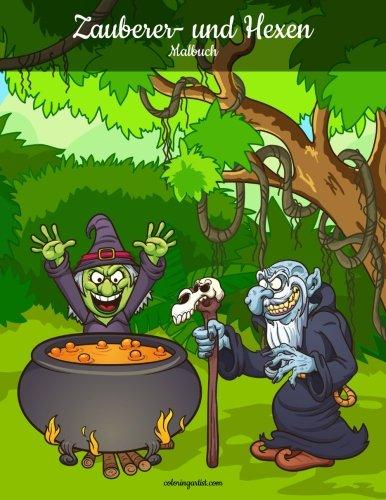 Zauberer- und Hexenmalbuch 1