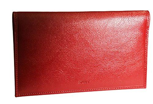 FANCIL Fancil , Unisex Scheckbuchhülle Rot rot