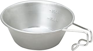 Snow Peak Sierra Cup, E-103 Stainless Steel, Lifetime Product Guarantee, Lightweight, Compact for Camping or Backpacking