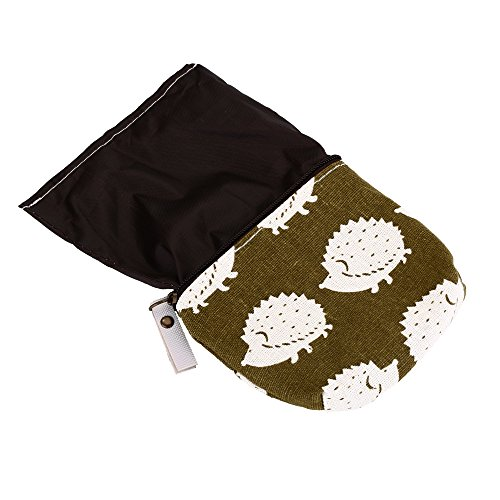 Cute Animal Tree Canvas Change Coin Purse Small Zipper Pouch Bag Wallet by Aiphamy, 4 Pack