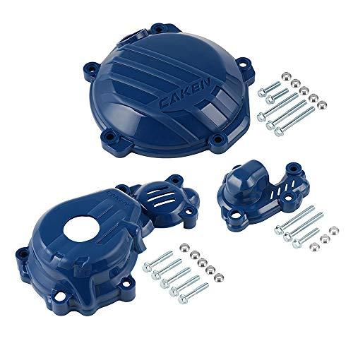 Motorradzubehör Kupplung Zündung Wasserpumpe Schutzfolie for Husqvarna FE250 FE350 2017-2020 FC250 FC350 2016-2019 2018 FX350 FE FC 250 350 (Color : Blue)