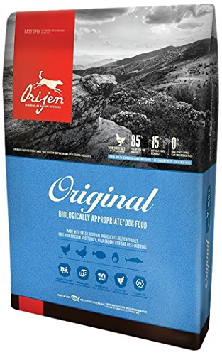 Orijen Original Dry Dog Food 4.5# Bag with FRESH FREE-RUN CHICKEN AND...