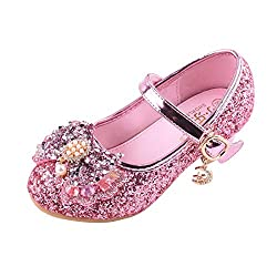 Y-Pink Mary Jane Low Heels Shoes