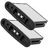 Feinstaubfilter - Ersatzfilter für die Eibenstock-Industriesauger DSS 25 A, DSS 1225, DSS 1250, DSS 35 M iP, DSS 50 A, DSS 50 M, DSS 25 M - Faltenfilterkassette - 2 Stück
