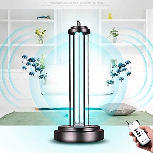 LAMTON Keimtötende UV/Sterilisation-Lampe mit Fernbedienung, Tötungs Bakterielle Hausstaubmilben, beseitigen Formaldehyd, entfernen Geruch (Größe : Orange red)