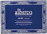 ホルベイン アルビレオ水彩紙 ブロック 中紙218g(並厚口) 中目 24枚とじ 270-233 B-B5