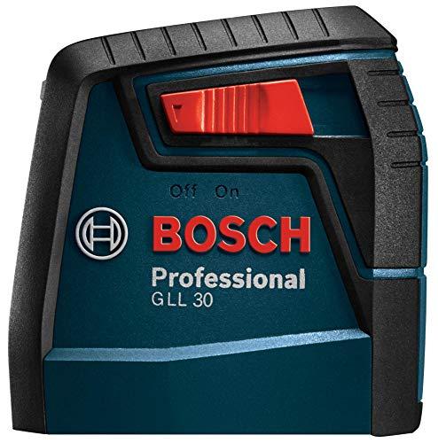 Bosch Self-Leveling Cross-Line Red-Beam High Power Laser Level GLL 30