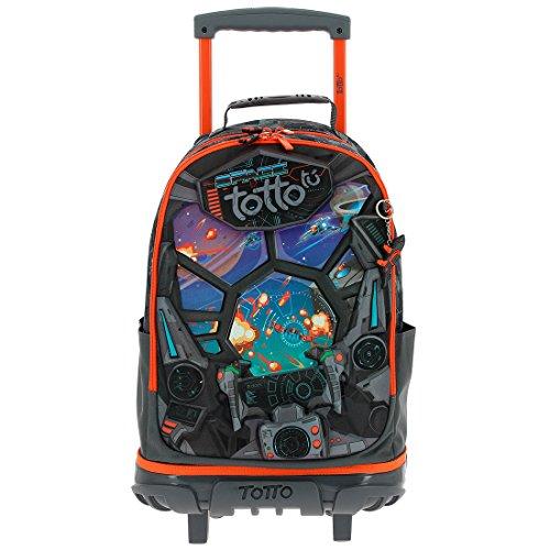 4. Totto MA04ECO002-1710N-1SF Crayola Mochila tipo casual - Una mochila ligera y divertida