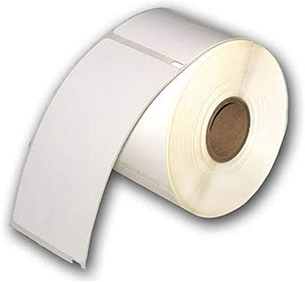 10 Rolls Of White Raptor Compatible ID Badge Labels 2 5 16 X 4 300 Badges Per Roll