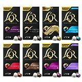 L'Or Espresso Surtido Café Variado - 80 cápsulas de aluminio compatibles con máquinas Nespresso, 8 Paquetes de 10 cápsulas