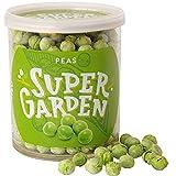 Super Garden guisantes liofilizados - Snack saludable - Producto 100% puro y natural - Apto para veganos - Sin azúcares, aditivos artificiales ni conservantes añadidos - Sin gluten - No OMG