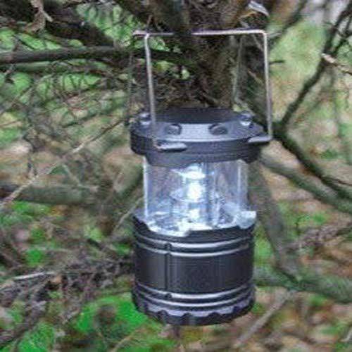 Dörr 980378 LED Camping Lampe CL-1285 (Ultrahelle 1W Maximal 90 Lumen, bis 12m) Silber