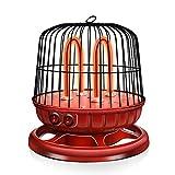 XIANGAI Calefactor Calentadores eléctricos de la Jaula de pájaro Calentador Ahorro de energía Principal, de Doble Velocidad Ajustable -850W