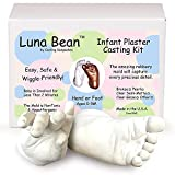 Luna Bean Baby Keepsake Hand Casting Kit -...