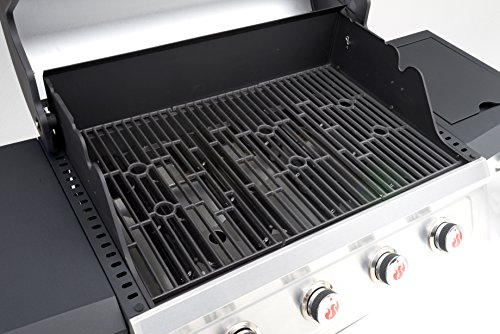 Landmann Barbecues Miton 4 Burner Gas Barbecue - Grey