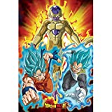ABYstyle - Dragon Ball Super - Poster - Golden Freezer (91,5x61 cm)