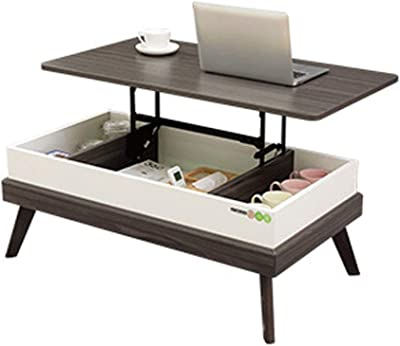 Coffee Table Side Table End Table Snack Table Multi-Functional Lifting Coffee Table Household Living Room Coffee Table Sitting Room Creative End Table Cabinet Desk Coffee Table Side Table End Table