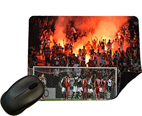 Eclipse Gift Ideas Chicago Fire Football Crowd Mouse Mat/Mouse Pad by Design 2