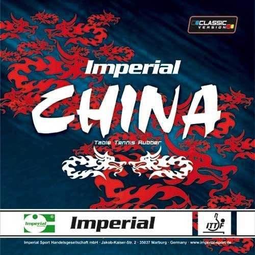 Imperial Belag China Classic, schwarz, 1,5 mm