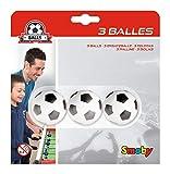 Smoby - 3 Balles en Plastique pour Babyfoot - 34 mm - 140711