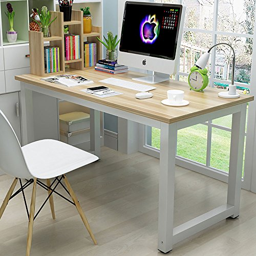 44 Laptop Computer Desk PC Table Wood Workstation Study Writing Gaming Bench Home Office Furniture