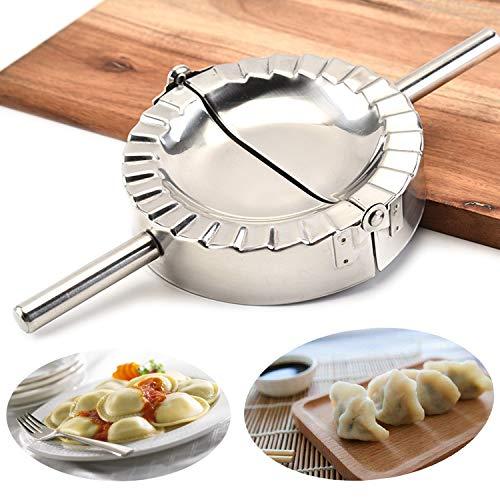QJFCare Stainless Steel Ravioli Mold Big Dumpling Press Maker